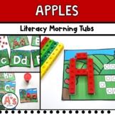 Apples Morning Tubs   Preschool and Kindergarten   Literac