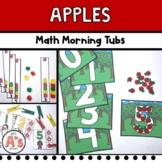 Apples Morning Tubs   Preschool and Kindergarten   Math Skills