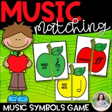 Apples Music Puzzles: Music Symbol Matching Game for Elementary Students