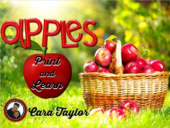 Apples No Prep Printables (Fall / Autumn Math and Literacy)