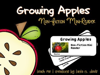 Apples: Non-Fiction Reader