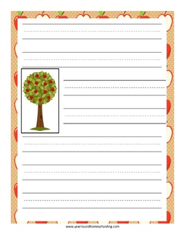 Apples Notebooking Pages