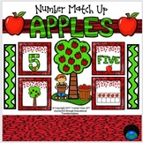 Apples Number Match Up Math Center