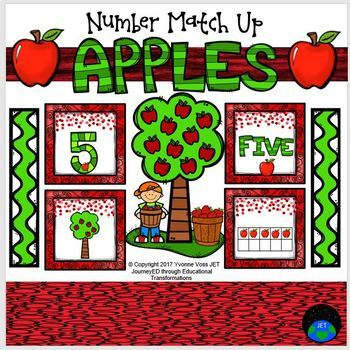 Apples Number Match Up