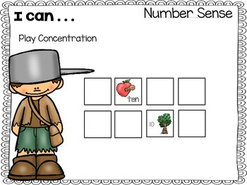 Apples - Number Sense Games 1 - 10