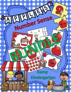 Apples Number Sense Bundle Numerals to 20