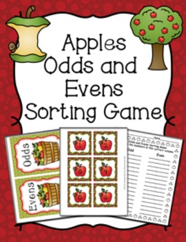 Apples Odd Even Numbers Sorting Game 1-30