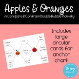 Compare and Contrast Practice - A Double Bubble Anchor Chart