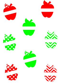 Apples PNG Design