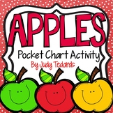 Apples (Pocket Chart Activity)