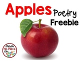 Apples Poetry FREEBIE Pack