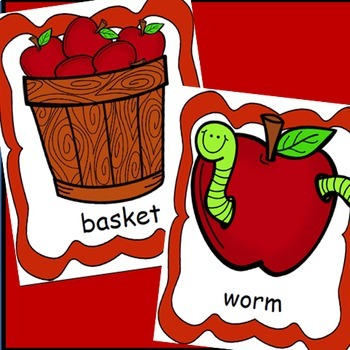 Apples Life Cycle Posters, Write the Room,  Apple Activities / Fall Activities