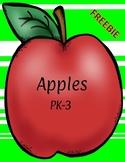 Apples Preschool Activities