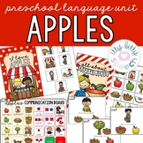 Apples Preschool Language Unit