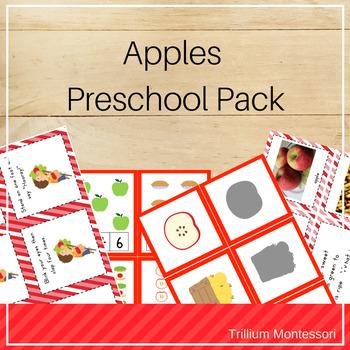 Apples Preschool Pack