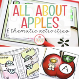 APPLE ACTIVITIES FOR PRESCHOOL, PRE-K AND KINDERGARTEN