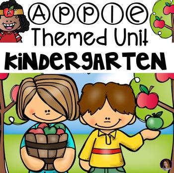Apple Unit Preschool & Kindergarten {Science, ELA, Math Activities & Centers)