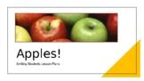 Apples Presentation Lesson