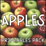 Apples Printable Pack