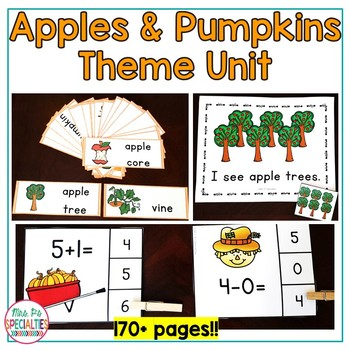 Apples & Pumpkins: Special Ed Thematic Unit