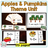 Apples & Pumpkins Thematic Unit for Special Education and Autism Classrooms