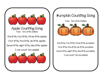 Autumn Math:  Pumpkins, Apples and Scarecrows