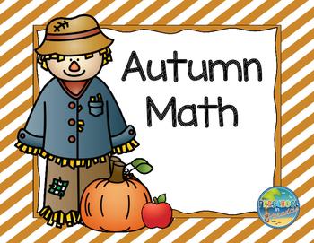 Autumn Math:  Pumpkins, Apples and Scarecrows