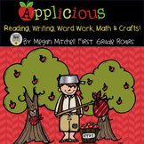 Apples Reading Writing Word Work Math and Crafts