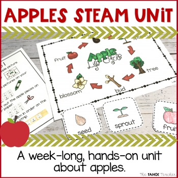 Apples STEAM Unit | Science Centers for Primary Grades