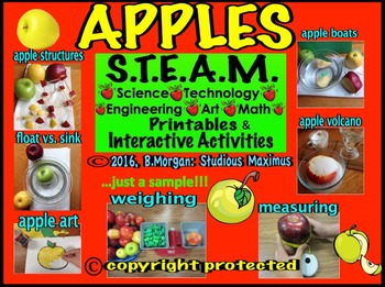 Apples. STEM and STEAM Interactive Activities.