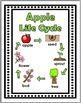 Apple Life Cycle Science Activities & Literacy