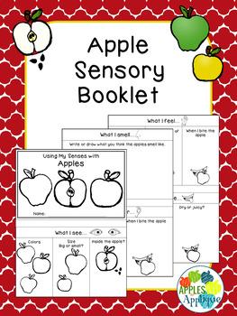 Five Senses with Apples: A Sensory Booklet