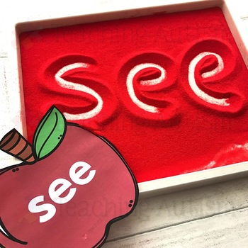 Apples Sight Word Flashcards