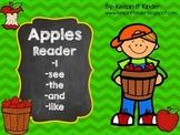 Apples Sight Word Reader