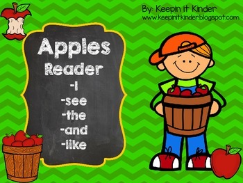 Apples Sight Word Reader