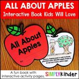 All About Apples - Apple Activities Book for Kindergarten