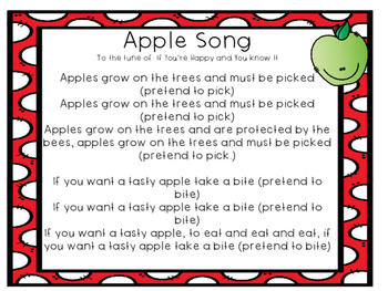 Apples Song
