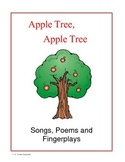 Apples Songs, Poems and Fingerplays
