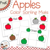 Apples Sorting Mats and Worksheets