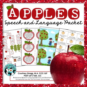 Apples Speech and Language Packet