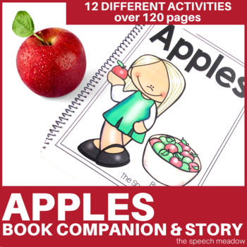 Apples: Story, Phonological Awareness, Language Preschool Unit