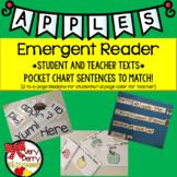 #freshsqueezedfriday Apples Emergent Readers & Pocket Chart Sentences