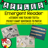 Apples Emergent Readers & Pocket Chart Sentences