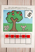 Apples Ten Frame Game  (Pre-K + K Math)