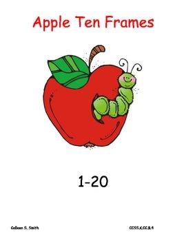 Apples Ten Frames/ number recognition