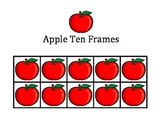 Apples Ten Frames - September / Back to School