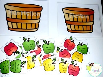 Apples Thematic Unit Bilingual BUNDLE (English and Spanish)
