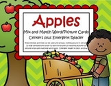 APPLES Word Wall Centers and Emergent Reader