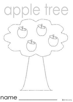 Apples Theme Prewriting