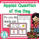 Apples Theme Question of the Day